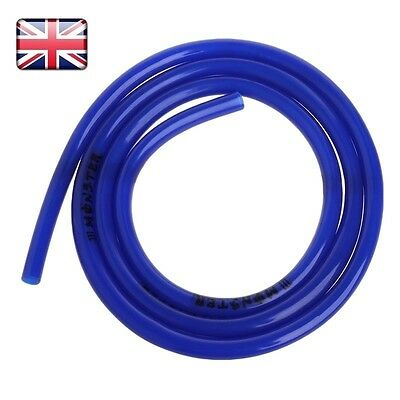 1m Universal Motorcycle Fuel Line Petrol Pipe 5mm I/D x 8mm O/D Fuel Hose Blue