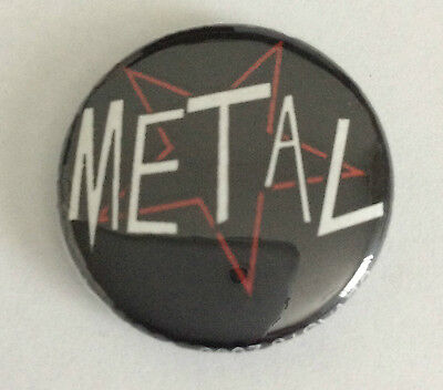 DEVAST8 1-inch BADGE Button Pin Metal NEW OFFICIAL MERCHANDISE Heavy Metal