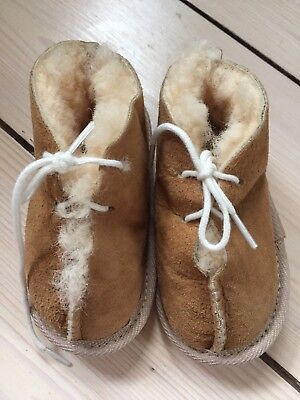 BRAND NEW Kids/Toddler/Baby Lambs skin Wool Booties/Slippers/Boots 13cm /6-12M