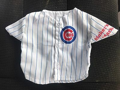 1 Limited Edition Makers Mark CHICAGO CUBS JERSEY Bottle Cover