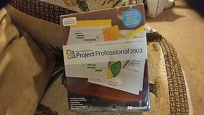 Microsoft Office Project 2003 Professional Full Licensed for 2PCs MS Pro NEW P