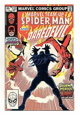 Marvel Team-Up Vol 1 No 123 Nov 1982 (VFN-) Spider-Man & Daredevil