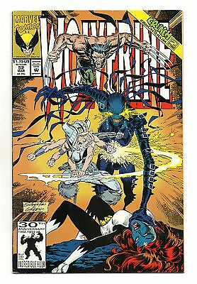 Wolverine Vol 2 No 52 Mar 1992 (VFN+) Marvel Comics, Modern Age (1980 - Now)