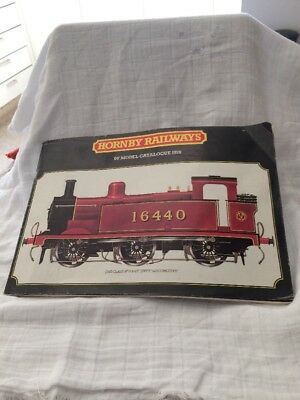 "Vintage Hornby Railways ""00"" Model Catalog 1978"