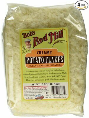 Bobs Red Mill Potato Flake Inst Idaho, PartNo 607142, by Bobs Red Mill, Pack of