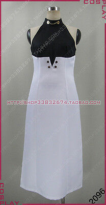 Seraph of the End Asuramaru Black And White Dresses Cosplay Costume S002