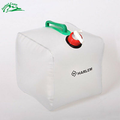 10L/20L Foldable Outdoor Camping Water Storage Carrier Container PVC Bag