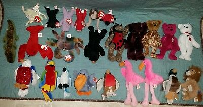 Vintage  Ty Beanie Babies Collection   Lot 22            ( G -3-)