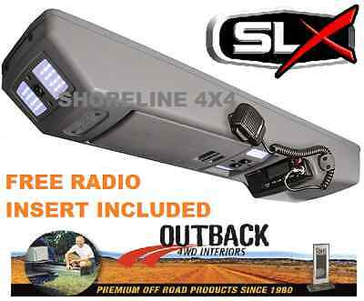 Outback Roof Console Rchi05 Toyota Hilux Dual Cab & Extra/space 03/05-9/15