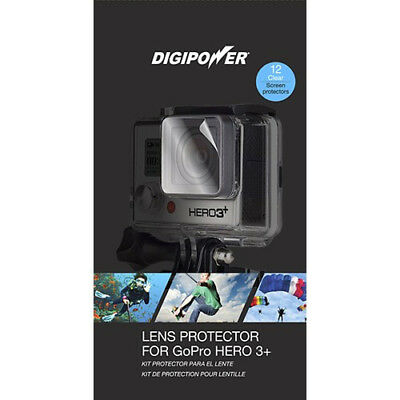 Digipower - Lens Protectors (12-Pack) for GoPro Hero3+ Action