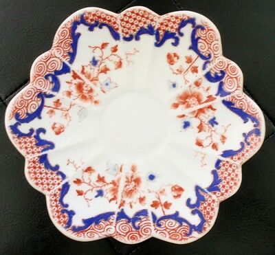1892 - 1911 Antique Vintage THE FOLEY CHINA Saucer - JOHN GOODWIN STODDARD & CO