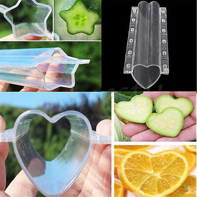 Star/Heart-shaped Cucumber Shaping Mold Garden Vegetable Growth Form Mould Tool