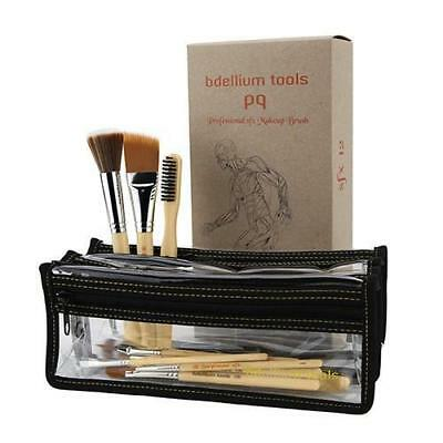 Bdellium Tools 12 pc SFX Brush Set with Pouch (1st Collection) Costume Halloween