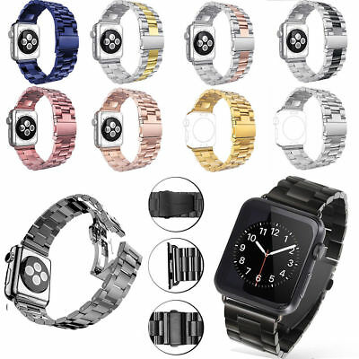 Stainless Steel Watch 3/5 Bands Strap Bracelet for iWatch Apple Watch 38 / 42mm