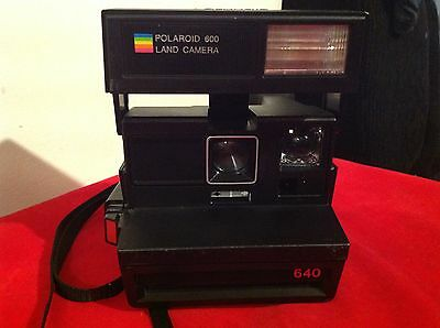 polaroid 600 land camera 640