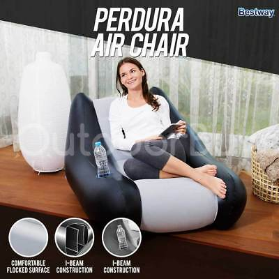 Inflatable Chair Seat Lounge | Bestway Perdura Camping Lounger Sofa