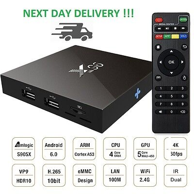 Brand New X96 Latest Smart Tv Box Android 6 With 2Gb Ram - Free Tv And Movies