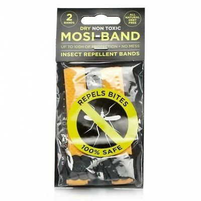 Mosi-Band Yellow Insect Repellent Bands 1 2 3 6 12 Packs