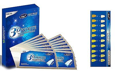 28 Pcs Professionelles 3D Bandes de Blanchiment des Dents Blanchiment Dentaire