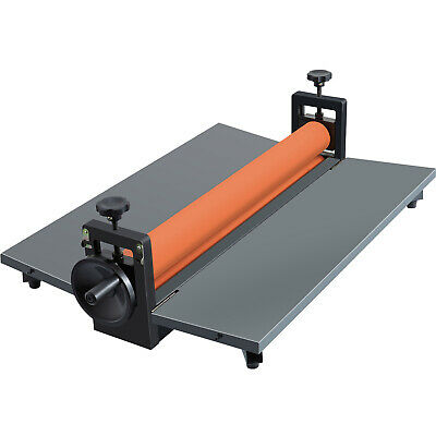 "Four Rollers Cold Roll Laminating Machine 25.5"" 650mm Manual Laminator Vinyl"