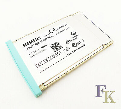 SIEMENS SIMATIC S7 6ES7952-1AS00-0AA0 6ES7 952-1AS00-0AA0  Vers. 06 -used-