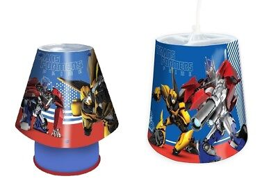 Transformers Prime Lamp Shade Set Living / Bed Room Hall Lighting Table Lamp