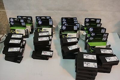 Job lot of 80 HP 950 951 XL  Ink Cartridges,  Virgin empties for refill