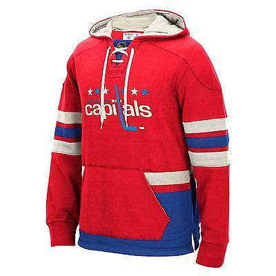 Adults Large Washington Capitals CCM Pullover Hoodie M90