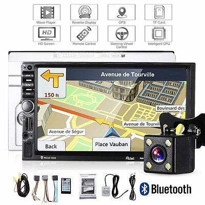 7 39 39 doppel 2 din autoradio navigation gps bluetooth. Black Bedroom Furniture Sets. Home Design Ideas