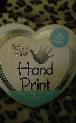 BABY'S FIRST Handprint Kit  great  Baby Shower Gift BRAND NEW!!!