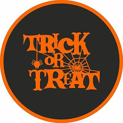 26 Trick or Treat  Stickers for Halloween Parties, Gift Bags, Party Games etc