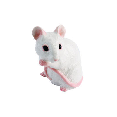 The Adorables Mouse White JBTA7W - John Beswick