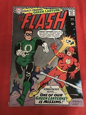 Flash #168 Green Lantern Appearance DC Comics VG