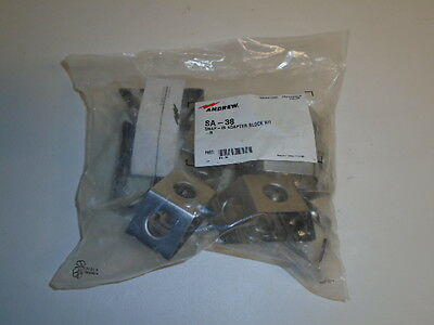 Commscope Andrews SA-38 Snap-In Adapter Block Kit. Bag of 10