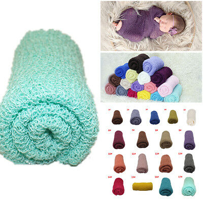 Newborn Baby Stretch Textured Knit Rayon Wrap Cocoon Photo Photography Prop x 1