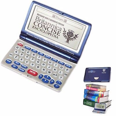 Seiko ER8100 Electronic Britannica Concise Encyclopedia Oxford Dictionary Pocket