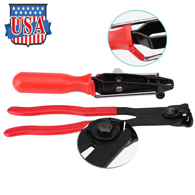 Portable Ear Type Joint Boot Clamp Pliers Set CVJ Clamps Banding Tools home360