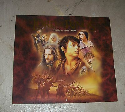 CALENDAR: 2005 Lord Of The Rings 11 x 12