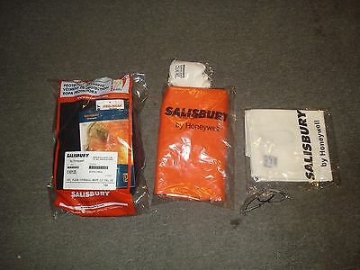 Salisbury Flame Resistant Coverall Kit Navy Large HRC2 SKCA11L
