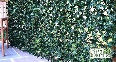 Artificial Garden Hedging Trellis Expandable Fence Wall Privacy Screening Ivy