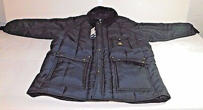 Refrigerwear Jacket Mens Navy 3XL Nylon 0358RNAV3XL,