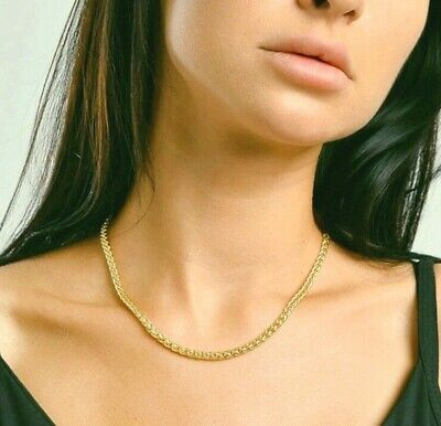 Source 18 inch 18ct White Gold Curb Chain Necklace ( 2mm thick )