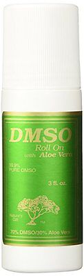 DMSO Roll On With Aloe Vera 3 fl. oz Nature's Gift