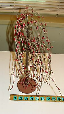 """15"""" Pip Berry Weeping Willow Tree Country Primitive Floral Decor"""