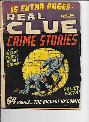 Real Clue Crime Stories  Vol 5 #7   Briefer art
