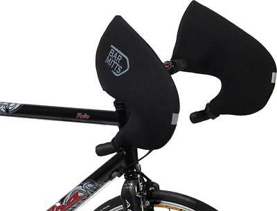 Bar Mitts Road Pogie Handlebar Mittens Int Routed Campagnolo/SRAM/Shimano MD Blk