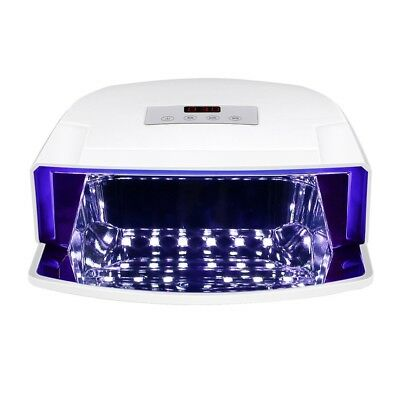 48W UV Lamp LED Nail Dryer Curing Gel Nails Polish Manicure Timer Salon Beauty