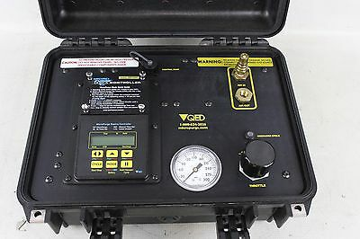 QED Micro Purge Basics MP10H Controller Ground Water Sampling Logic Control 1152