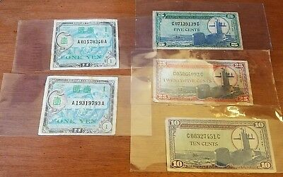 Military Payment Certificate lot