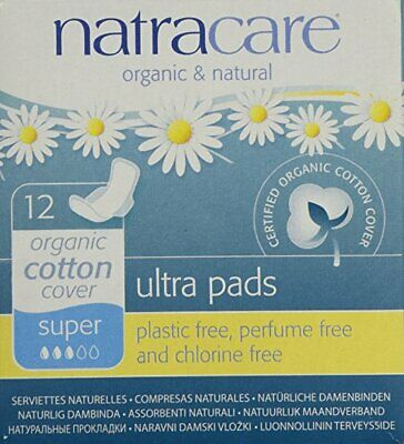Natracare Pads Ultra Sup Wings, PartNo 732446, by Natracare, Single Unit